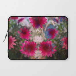 flowers abstract Laptop Sleeve