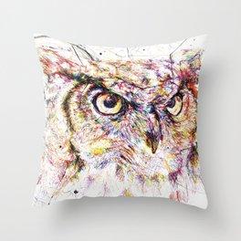 Owl // Ahmyo Throw Pillow