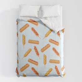 Who Doesn't Love Corn Dogs? Comforters