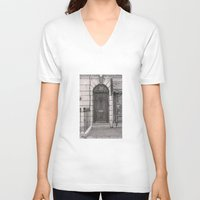 221b V-neck T-shirts featuring 221b by v0ff