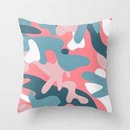 Camouflage 05 Throw Pillow