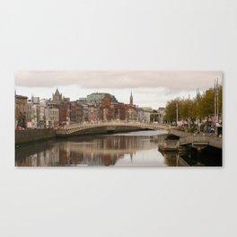 Ha'penny Bridge Canvas Print