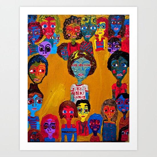stranger Art Print