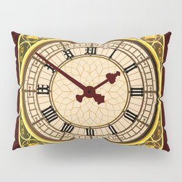 Big Ben at Clock Face Pillow Sham