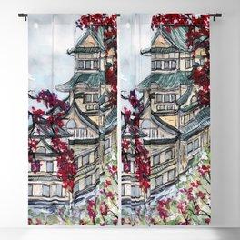 Japanese Castle Blackout Curtain