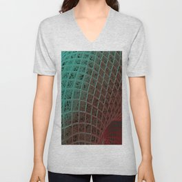 Fishnet Unisex V-Neck