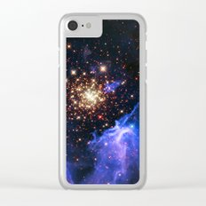 Star Forming Nebula Clear iPhone Case