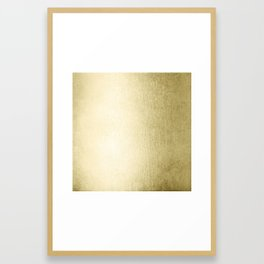 Simply Gilded Palace Gold Framed Art Print