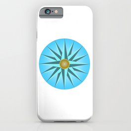 Mariners Compass iPhone Case