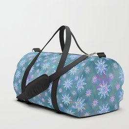 Mela's Sense of Snow Duffle Bag
