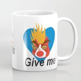 Mad cat Coffee Mug