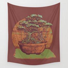 Bonsai Roach Swing Wall Tapestry