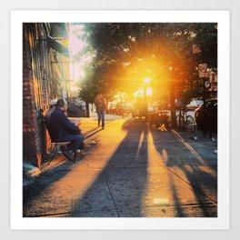 Brooklyn Sunrise Art Print