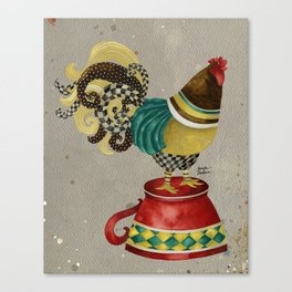 Rooster Willow Canvas Print