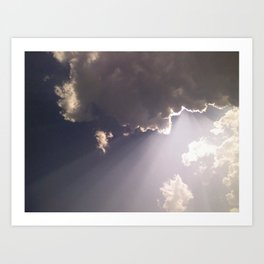Heaven Above Art Print