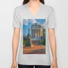 Virginia Charlottesville Campus Print Unisex V-Neck