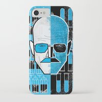 walter white iPhone & iPod Cases featuring Walter White by Micah Lanier