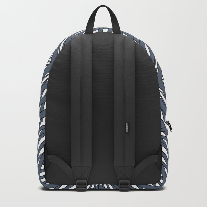 Abstract geometric pattern,gray pattern on a white background. Backpack