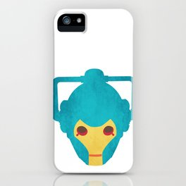Colorful Cyberman Doctor Who iPhone Case
