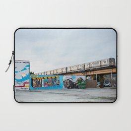 Chicago El and Mural Laptop Sleeve
