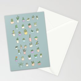 Cactus, succulents, plants! Stationery Cards