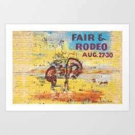 Fair & Rodeo Art Print