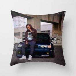 XAVIER WULF Throw Pillow