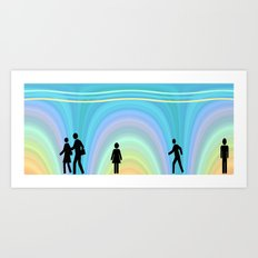 The Subway Art Print