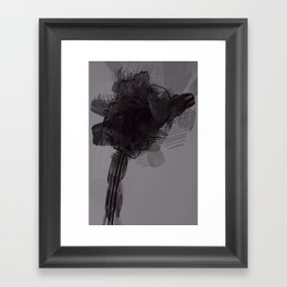leaf three Framed Art Print