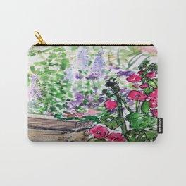 Public flower garden - Charlestown Carry-All Pouch