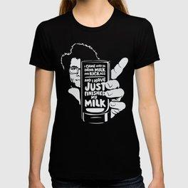 Drink Milk and Kickass T-shirt