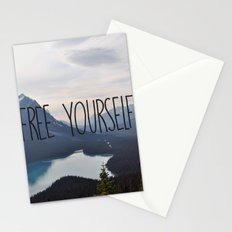 Free Yourself Stationery Cards