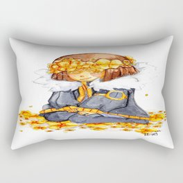 Flowerfell Rectangular Pillow