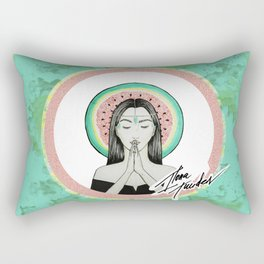 Watermelon Goddess in Colors Rectangular Pillow