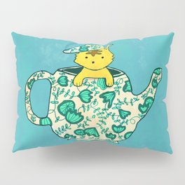 Dinnerware sets - Kitten in a teapot Pillow Sham