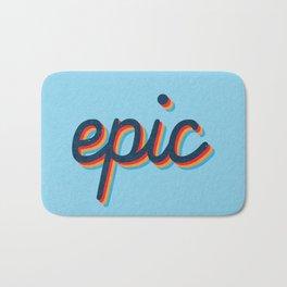 Epic - blue version Bath Mat