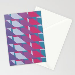Abstract Drama #society6 #violet #pattern Stationery Cards