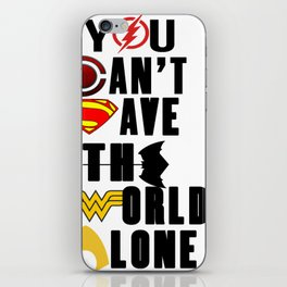 league justice iPhone Skin