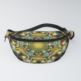 Mandalas from the Depth of Love 20 Fanny Pack