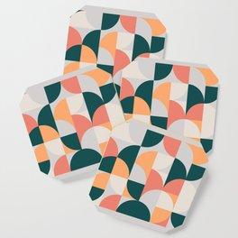 Mid Century Geometric 17 Coaster