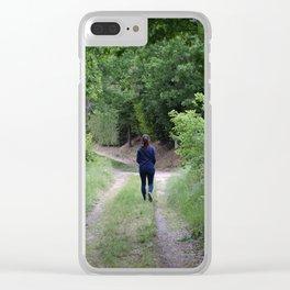 Sentiero nel bosco Clear iPhone Case