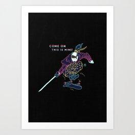 Modern Warriors - II Art Print