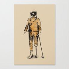 Astropirate (Watercolors) Canvas Print