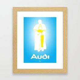 I'm Out (Pope) Framed Art Print