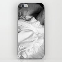 bed iPhone & iPod Skins featuring Bed by zenazero