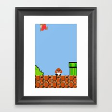 Minion's Last Rites: Mario's Goomba Framed Art Print