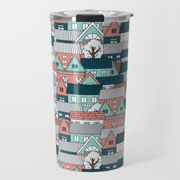 A lot of Houses Travel Mug