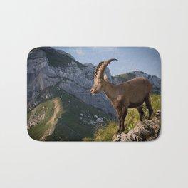 Capricorn in the Alps Bath Mat