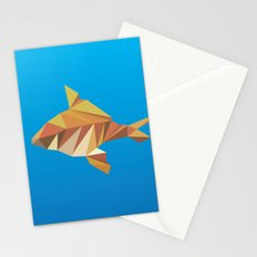 Geometric Goldfish Stationery Cards