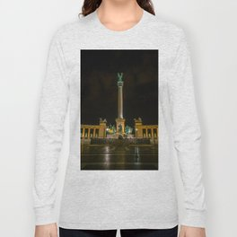Heroes Square - Budapest, Hungary Long Sleeve T-shirt